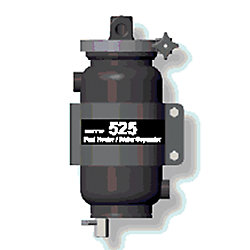 525 FUEL HEATER/WATER SEPARATOR