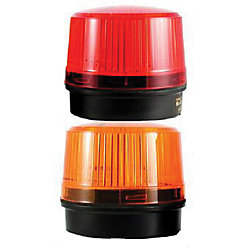 AMBER STROBE LIGHT 12V WEATHERPROOF