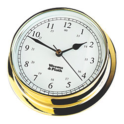 ENDURANCE CLOCK BRASS 4-3/4INDIAL