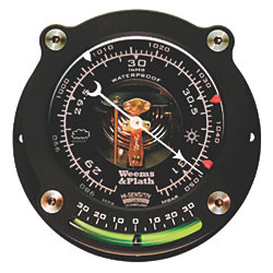 NAUTILUS BAROMETER W/INCLINOMETER