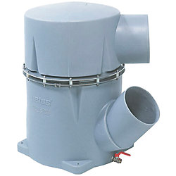 PLASTIC WATERLOCK 6IN IN/OUT 45 DEG