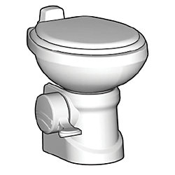 WHT TRAVELER 210 GRAVITY TOILET