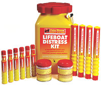 Lifeboat Distress Kit from Paines Wessex