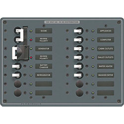 120V A SERIES PANEL 2 MAIN 16 POS