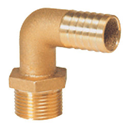 1-1/4 BSP BRASS 90 DEG HOSE PILLAR