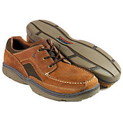 MS PERF DECK SHOE BROWN SZ 12.5-US