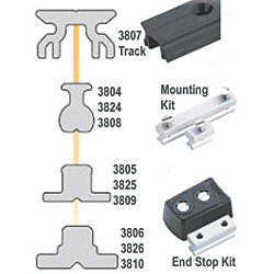 SYS A TRACK END KIT FLAT