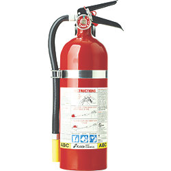 FIRE EXTINGUISHER DRY CHEM ABC 5LB