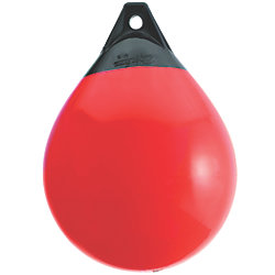 15.5IN DIA RED RND BUOY