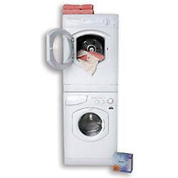 WASHER 24IN 1.9CF WHITE 115V/60HZ