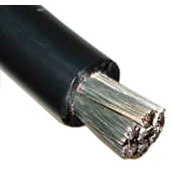 2 BLK TINNED COPPER WIRE (500)