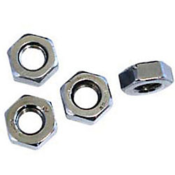 3/8-24 FINE THREAD SS LH HEX NUT