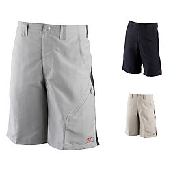 PADDED SAILING SHORTS KHAKI/DRKGRAY