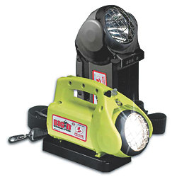 3850 YEL BIG D NICAD RECHARGE FLASHLIGHT