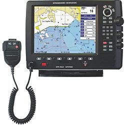 GPS CHARTPLOTTER W/ VHF/HAILER