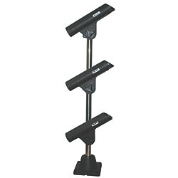 ROD HOLDER TREE BLACK