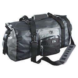 WATERPROOF DUFFLE BAG BLACK/GRAY