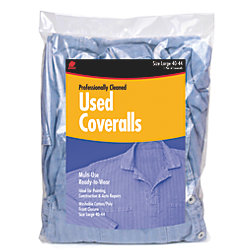 USED COVERALL (1) LARGE