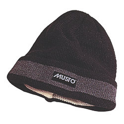 MUSTO WINDSTOPPER HAT: BLACK