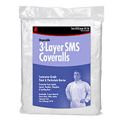 SMS COVERALL HOODED MED