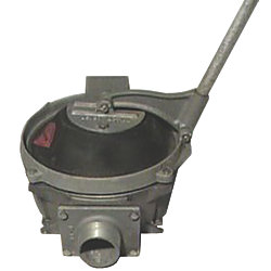 "18 GPM ""Compact"" Manual Diaphragm Pump - Aluminum"
