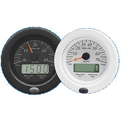 MULTI-FUNCTION TACH WHT/BLK GAS