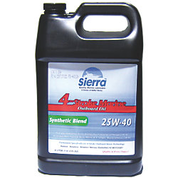 4L SYNTHETIC MERC OB ENGINE OIL
