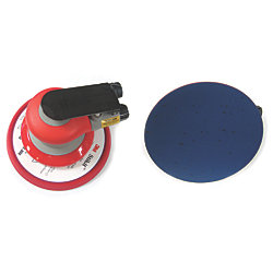 6IN RANDOM ORB AIR SANDER NON-VAC 3/16IN