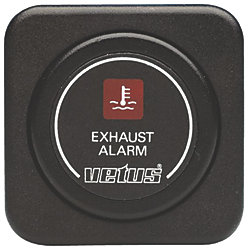 EXHAUST TEMP ALARM 12V BLACK
