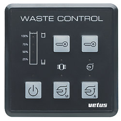 WASTE WATER CONTROL PANEL 12/24V