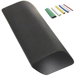 2-4/0 48INL HEAT SHRINK BLACK