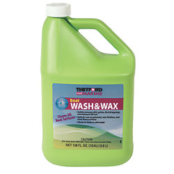 128 OZ BOAT WASH & WAX