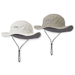 HELIOS SUN HAT  SAND/DARK GREY LRG