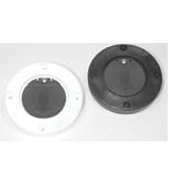 FLUSH MOUNT SCUPPER ADAPTER BLACK