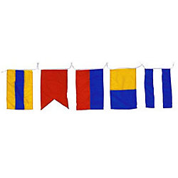 12IN X 15IN INTL CODE FLAG SET