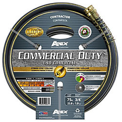 3/4IN X 50FT COMMERCIAL STRENGTH HOSE
