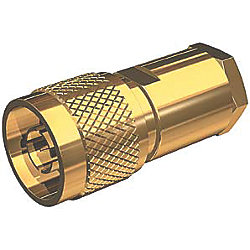 GOLD MALE N CONNECTOR F/RG-8X