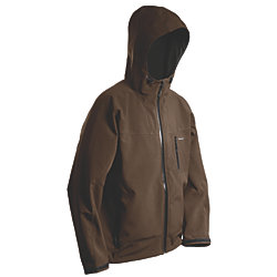 WEATHER GAGE SOFTSHELL: BROWN LG