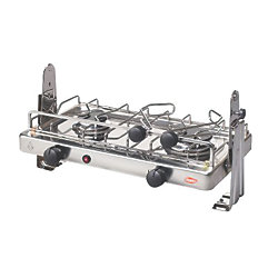 2 BURNER GIMBALED COUNTER TOP STOVE