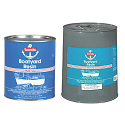 5GA BONDO BOATYARD RESIN