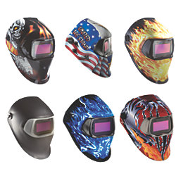 SPEEDGLAS 100 HELMET BLAZED