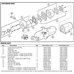 UPPER HOUSING KIT F/31595/31600