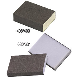3.75X2.6IN FINE HIGH FLEX SANDING SPONGE