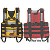 VR RESCUE VEST W/QUICK REL.- YELLOW
