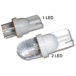 12V 20MA 1 LED WEDGE BASE BULB