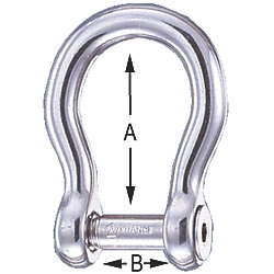 1/4IN ALLEN KEY PIN BOW SHACKLE