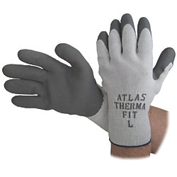 XL ATLAS THERMAFIT GLOVE LT GREY
