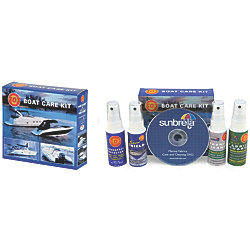 BOAT CARE KIT 4- BOTTLES 2 OZ EA.