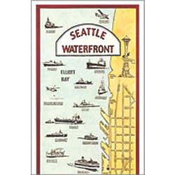 SEATTLE WATERFRONT - CARD