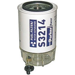 SPIN-ON FUEL FILTER F/OMC/502905 10MIC